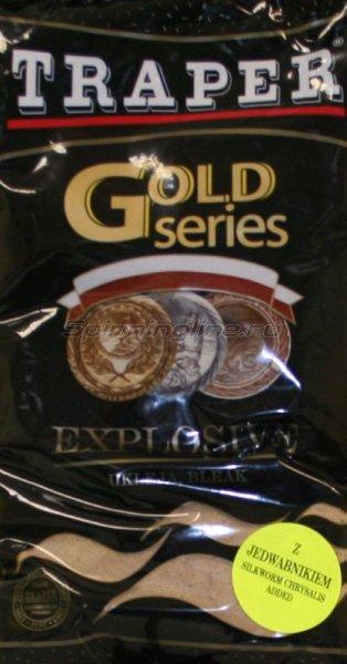 Прикормка Traper Gold Explosive 1кг - фотография 1