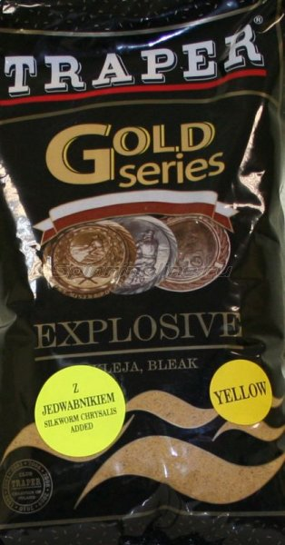 Прикормка Traper Gold Explosive yellow 1кг - фотография 1