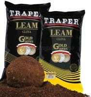 Вязкая глина Traper желтая 2кг