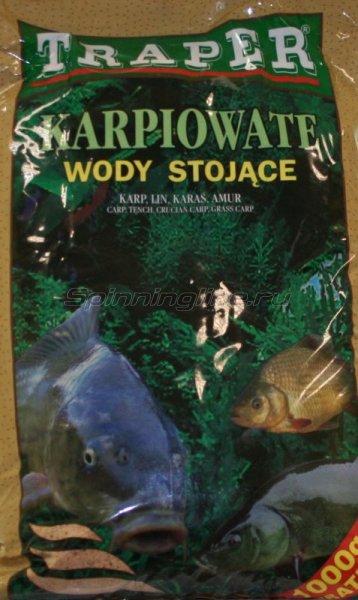 Прикормка Traper Karpiowate стоячая вода 5кг -  1