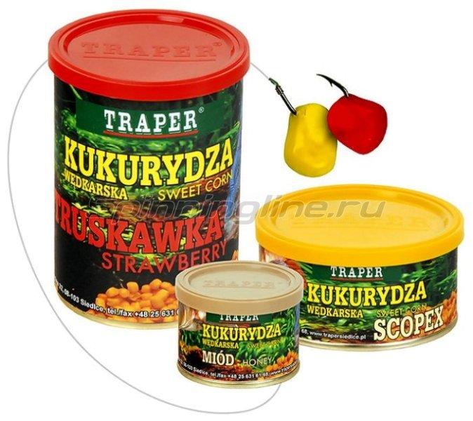 Traper - Кукуруза консервированная, клубника 70гр - фотография 1