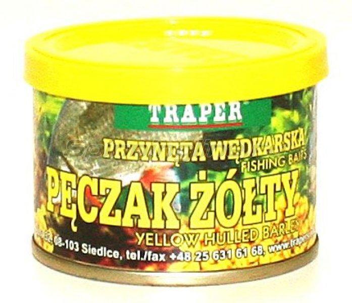 Насадка Traper консервированная перловка желтая 70гр -  1