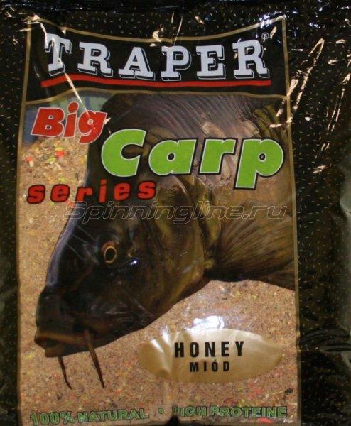 Прикормка Traper Big Carp Мед 2,5кг -  1