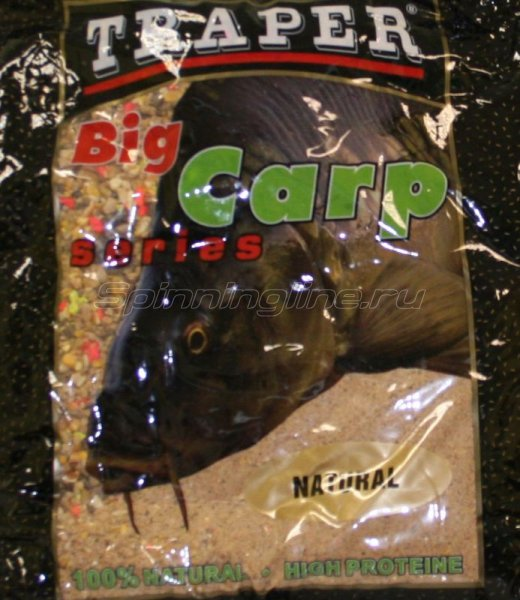 Прикормка Traper Big Carp натуральная 2,5кг -  1