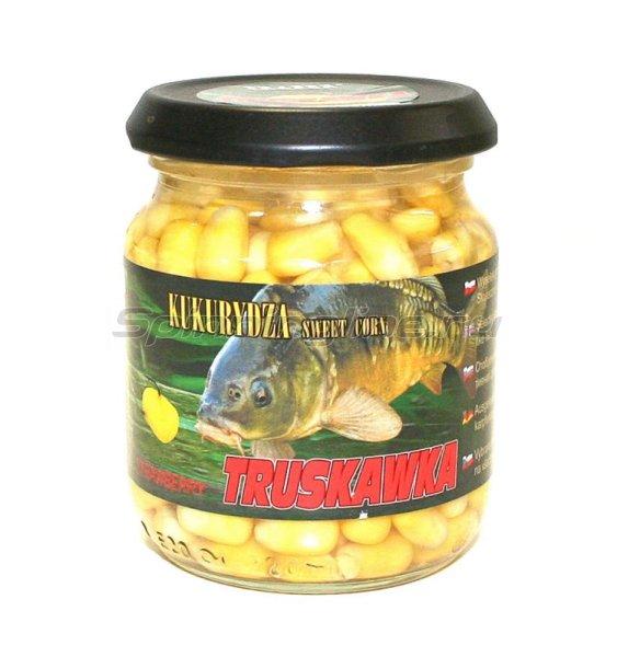 Traper - Кукуруза консервированная в в заливке, клубника 125гр - фотография 1