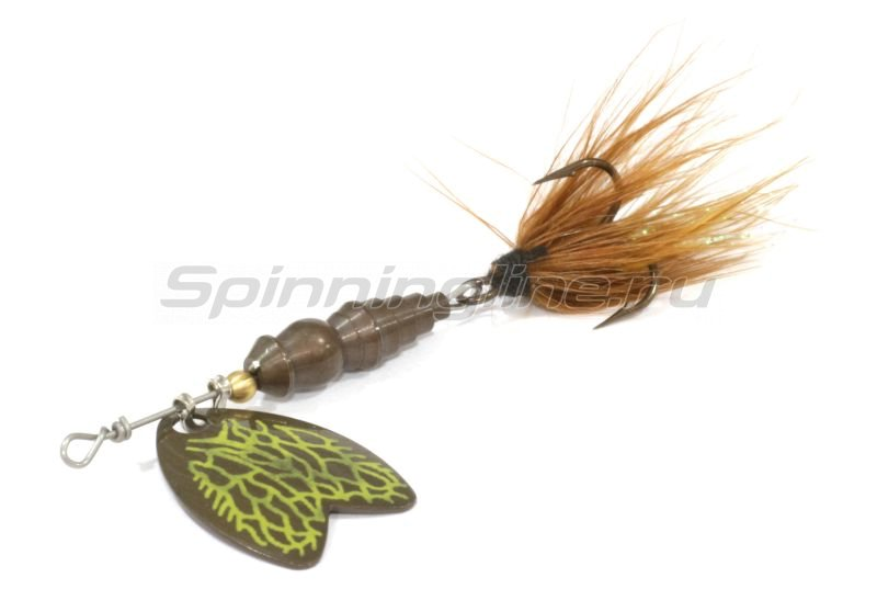 Mepps - Блесна Bug 1 March Brown/Brun 4гр - фотография 1