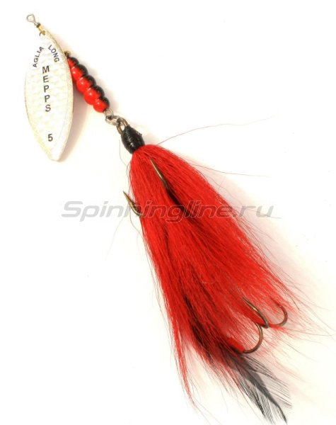 Mepps - Блесна Giant Tandem Mouche Red - фотография 1