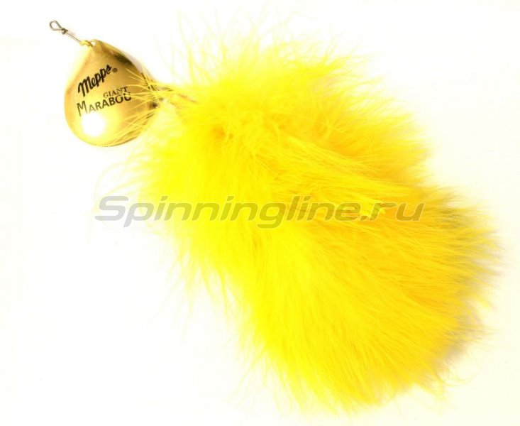 Блесна Giant Marabou G/Yellow -  3