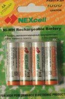 Комплект аккумуляторов Nexcell 2700 MAh 4 штуки