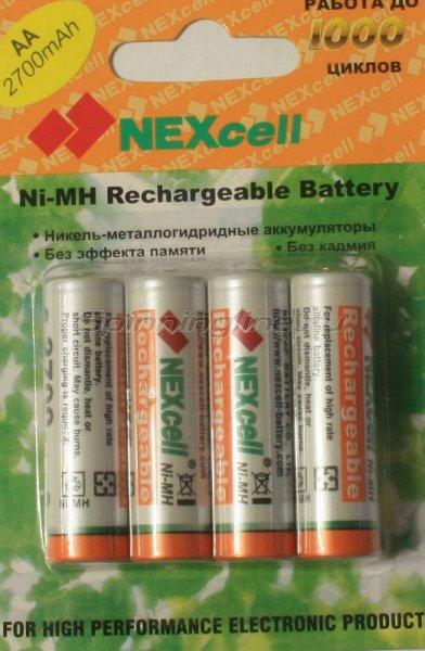 Комплект аккумуляторов Nexcell 2700 MAh 4 штуки - фотография 1