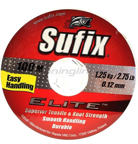 Sufix - Леска Elite X10 100м 0,18мм green - фотография 1