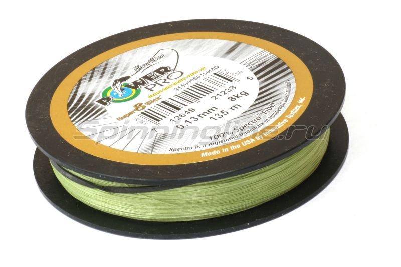 Шнур Super8Slick 135м 0.32мм green -  2