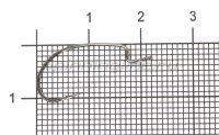 Крючок Decoy S.S. Hook Worm 19 №6