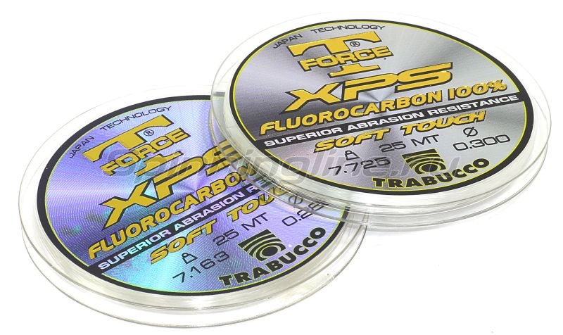 Trabucco - Флюорокарбон T-Force Fluorocarbon 30м 0,185мм - фотография 1