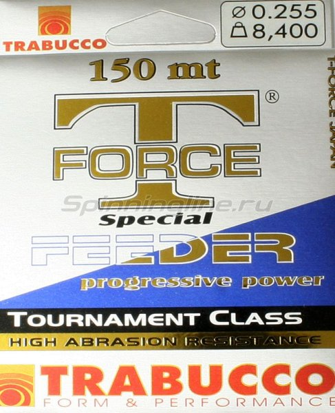 Леска T-Force Special Feeder 150м 0,30мм -  1