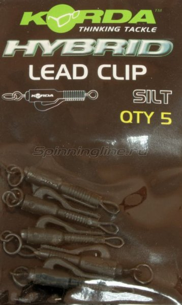 Безопасная клипса Korda Lead Clip Silt - фотография 1