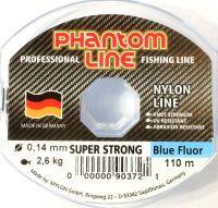 Монофильная леска Phantom Line Strong Blue Fluo