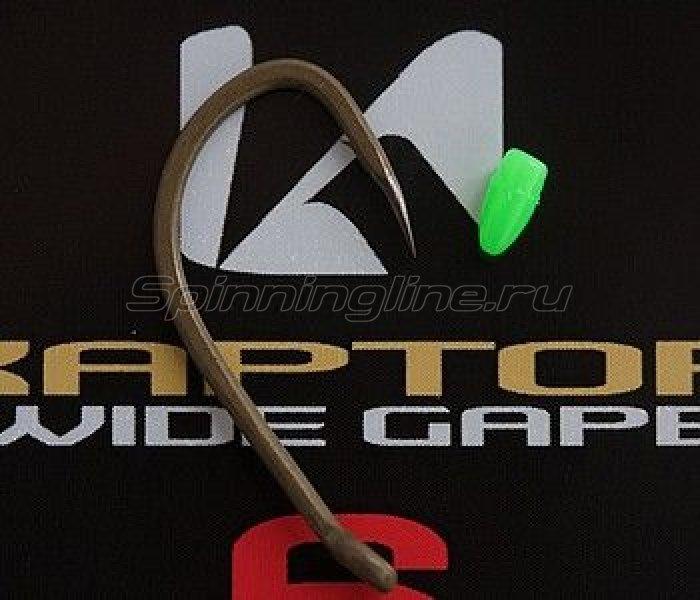 Крючок Korda Kaptor Wide Gape Gravel №8 - фотография 1