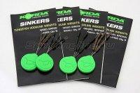 Огрузка для крючка Korda Sinkers Medium Weedy Green