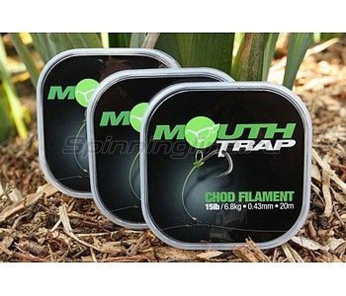 Поводковый материал Korda Mouth Trap 20м 25lb -  1