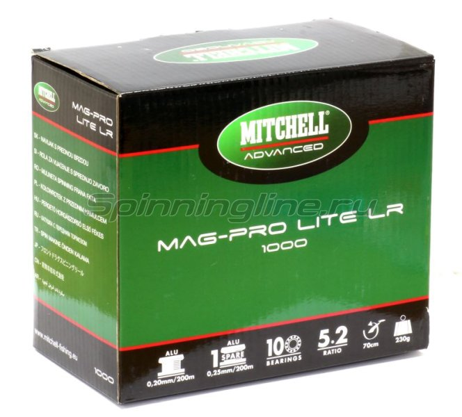 Катушка Mag Pro Lite 500 LR -  8