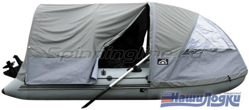 Наши Лодки - Полный тент-палатка Патриот 340 - фотография 1