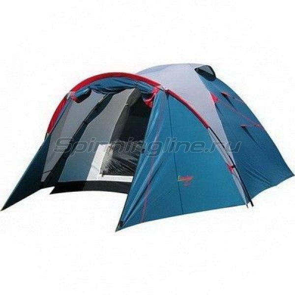 Палатка туристическая Karibu 4 (цвет royal) -  1