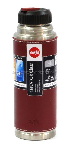 Термос Emsa Senator Class 0.5л сталь/красный - фотография 1
