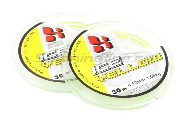 Леска Hi-Tech Yellow 30м 0,12мм -  1