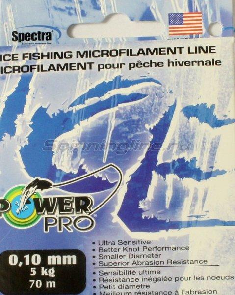 Шнур Ice Blue 70м 0,10мм/0,08мм -  1