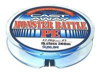 Плетеный шнур Sunline Monster Battle PE