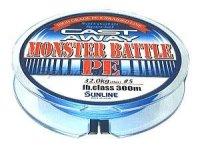 Шнур Sunline Monster Battle PE 300м 3