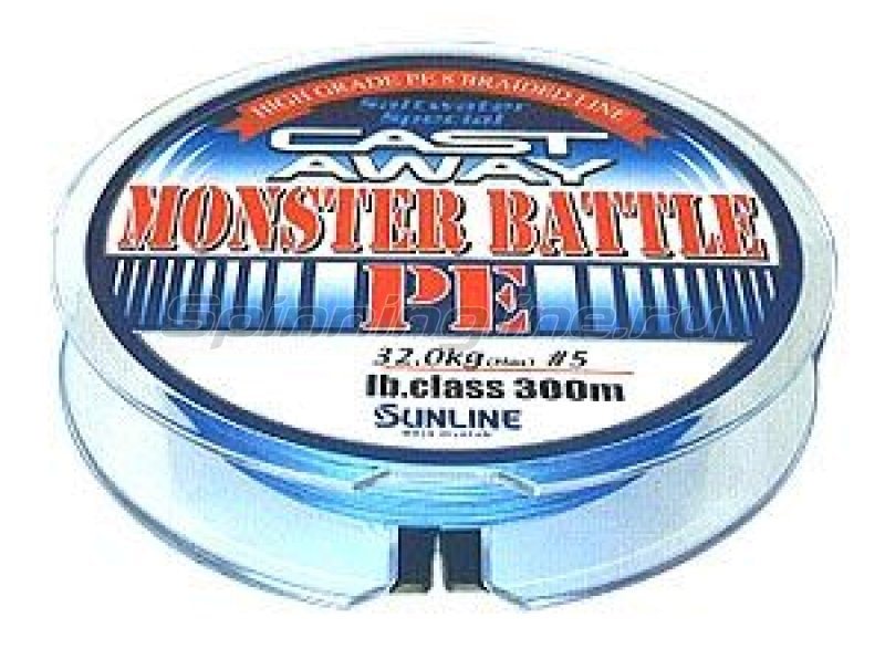 Sunline - Шнур Monster Battle PE 300м 4 - фотография 1