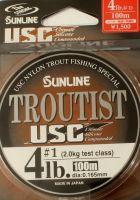 Монофильная леска Sunline Troutist USC