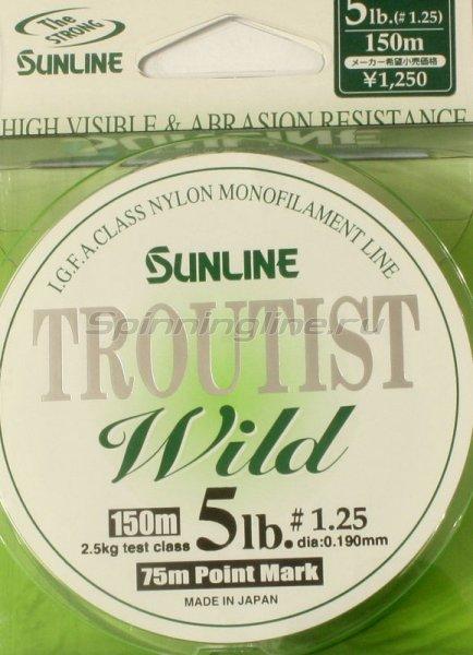 Sunline - Леска Troutist Wild 150м 0,285мм - фотография 1