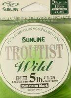 Леска Sunline Troutist Wild 150м 0,19мм