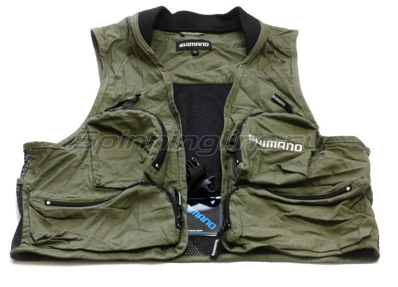Shimano - Жилет рыболовный EV Vest XL - фотография 1