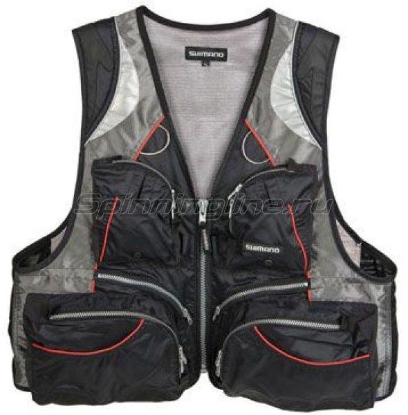 Shimano - Жилет рыболовный Hi-Tech Vest XXL - фотография 1
