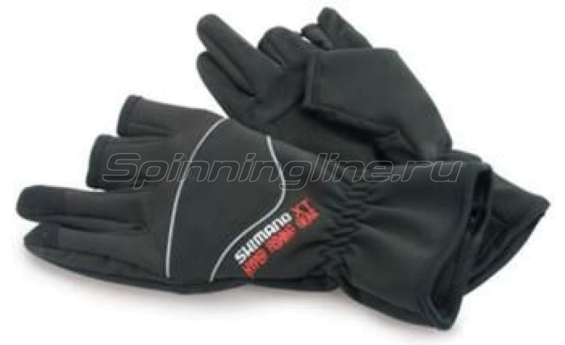 Shimano - Перчатки HFG XT Winter Gloves L - фотография 1