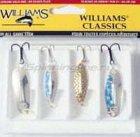 Набор Williams из 4-х блесен W32M