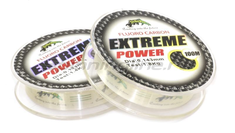 STRIKE PRO - Fluorocarbon Extreme Power 100м 0.143мм - фотография 2