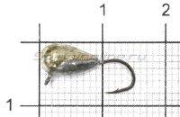 Мормышка Капля с ушком d5 никель