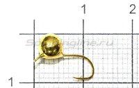 Мормышка LumiCom Дробинка с ушком d5.5 золото