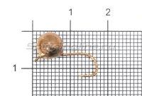 Мормышка Дробинка с ушком d7.5 медь