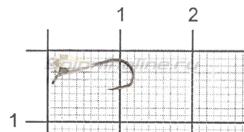 Lumicom - Мормышка Капля граненая с ушком d3 никель - фотография 1