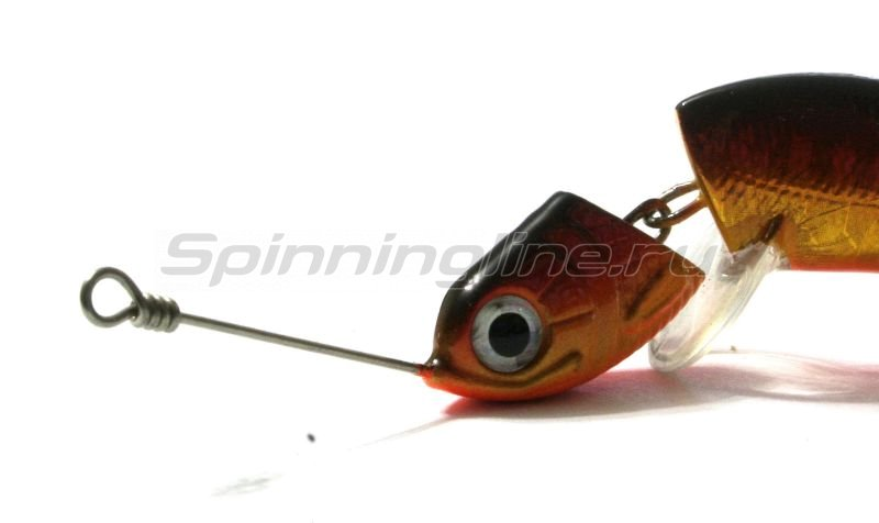 Воблер Jigwobbler 65 y1 shinny red -  2