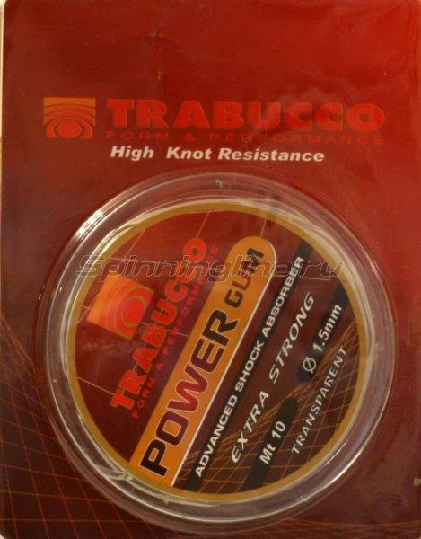 Полимерный поводковый материал Trabucco Power Gum 10м 1.5мм -  1