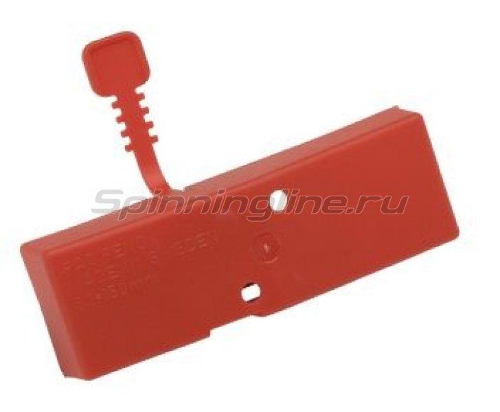 Чехол для ножей ледобура Mora Ice 125мм красный -  1