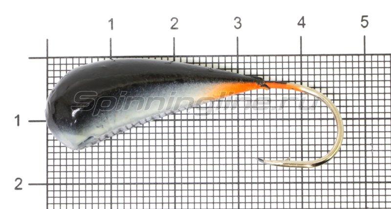 Fish Gold - Мормышка судаковая Трехгранка Светлячок 24гр черная - фотография 1