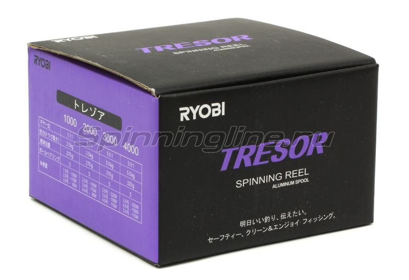 RYOBI - Катушка Tresor 3000 - фотография 6